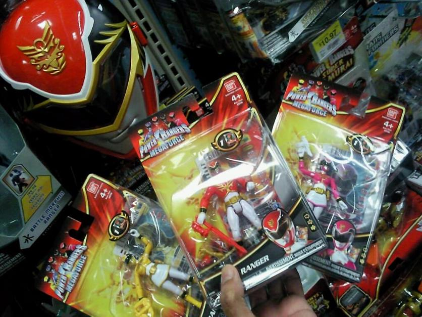 Power Rangers Megaforce Toys At Walmart