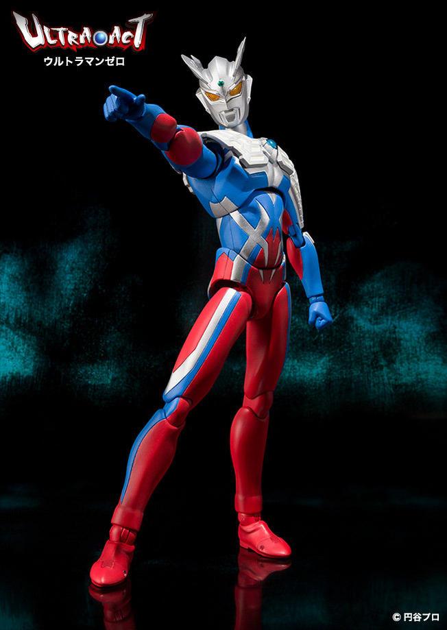 Ultra-Act Ultraman Zero V2 Images - Tokunation