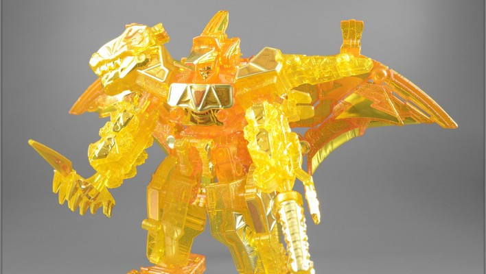 Kyoryuger Minipla Raiden Kyoryuzin Lightning Brave Finish Gallery by MoonBaseTom