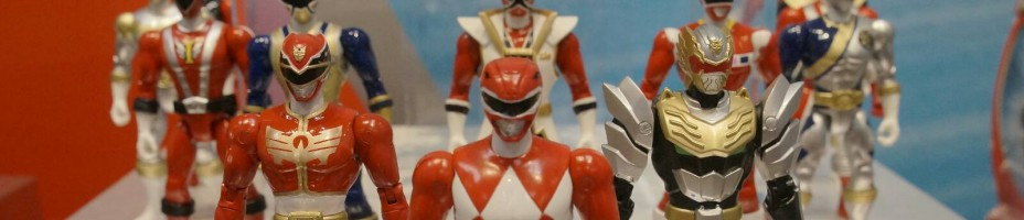 Toy Fair 2014 Bandai Power Rangers Super Megaforce 092