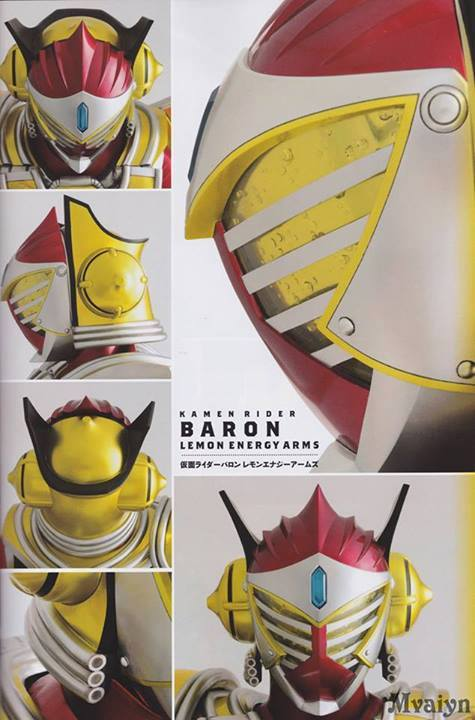 Detailed Look at Lemon Energy Arms Kamen Rider Baron ...