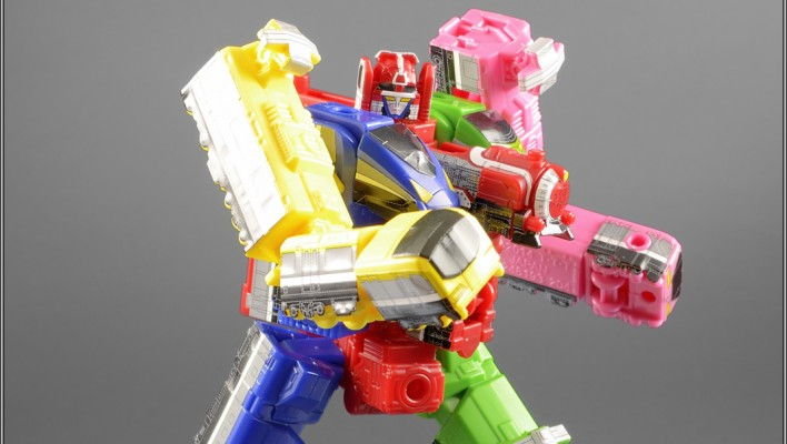 Ressha Sentai ToQGer Mini-Pla ToQOh Gallery and Video Review
