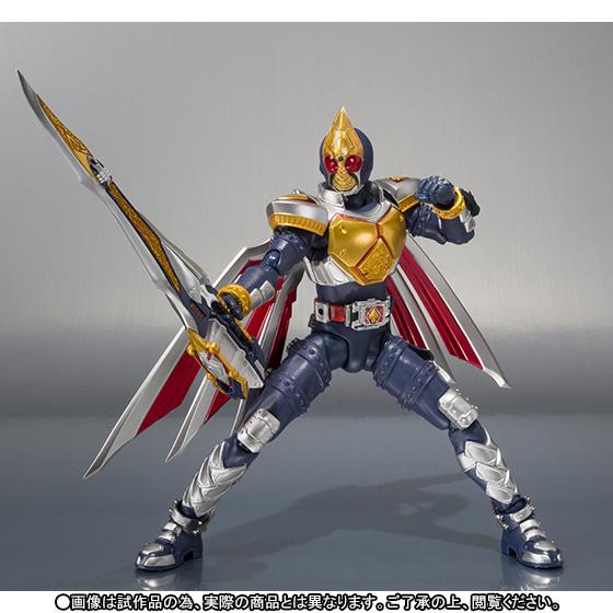 S.H. Figuarts Kamen Rider Blade Jack Form Official Images ...