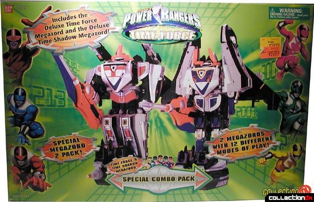 PRM Time Force Megazords
