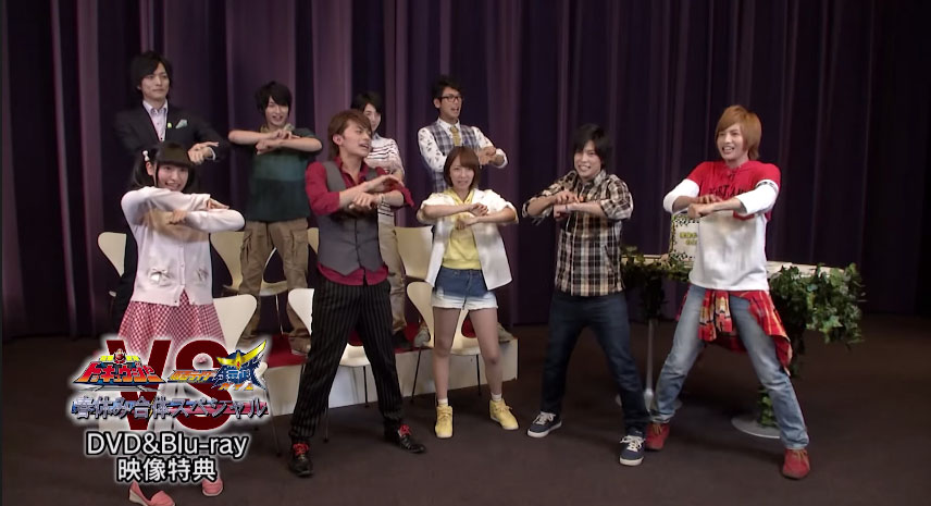 Toqger Vs Gaim Special Talk Party Feature Included On Dvd Blu Ray Tokunation