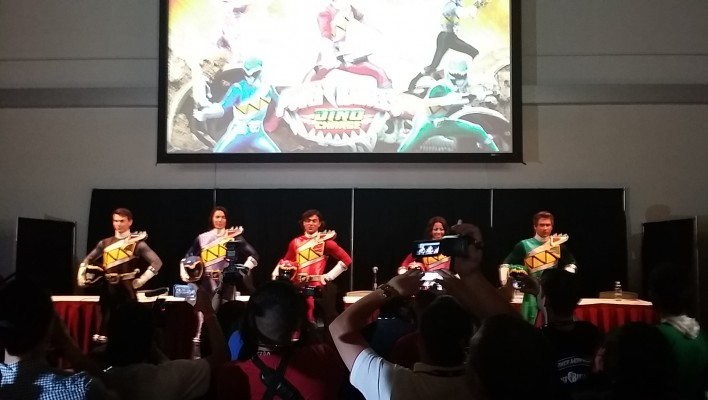 PMC Saban Brands Panel Coverage, Dino Charge Cast  Reveal!
