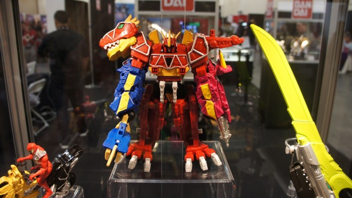 PMC2014 - Power Rangers Dino Charge Megazord Pics and Info