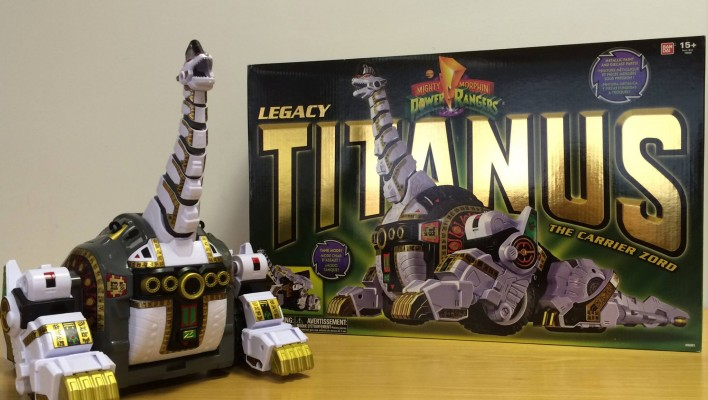 Legacy Titanus Images From Bandai UK