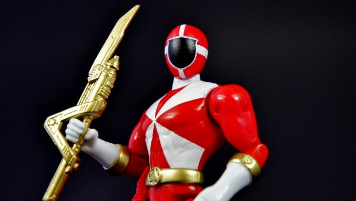 Power Rangers Super Megaforce 5 Inch Lightspeed Rescue Red Ranger Gallery & Review