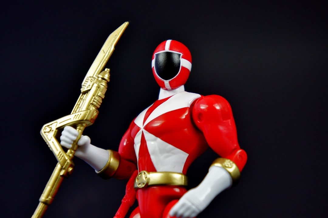 Power Rangers Super Megaforce 5 Inch Lightspeed Rescue Red ...