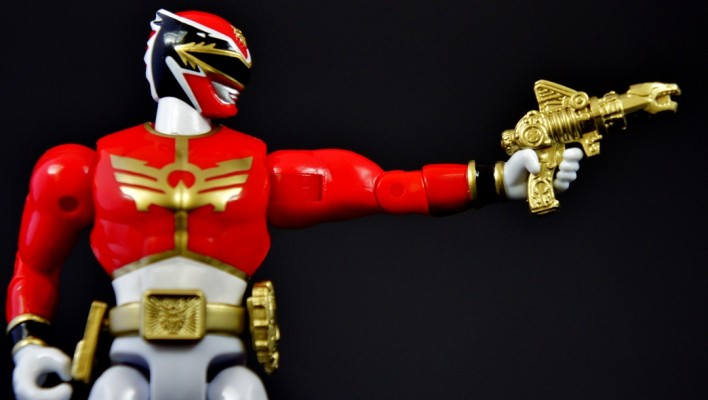 Power Rangers Super Megaforce 5 Inch Megaforce Red Ranger Gallery & Review