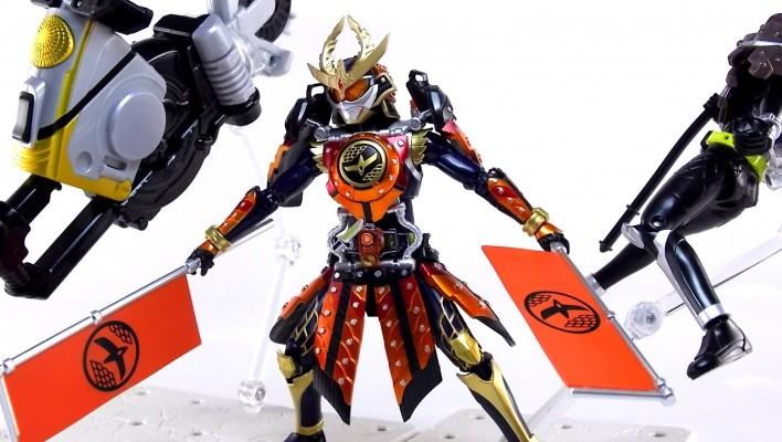 S.H. Figuarts Kamen Rider Gaim Kachidoki Arms Gallery