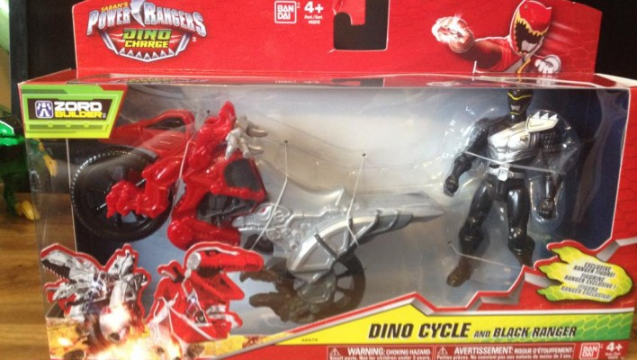 EXCLUSIVE - Power Rangers Dino Charge Dino Cycle In-Hand Images, Video Unboxing