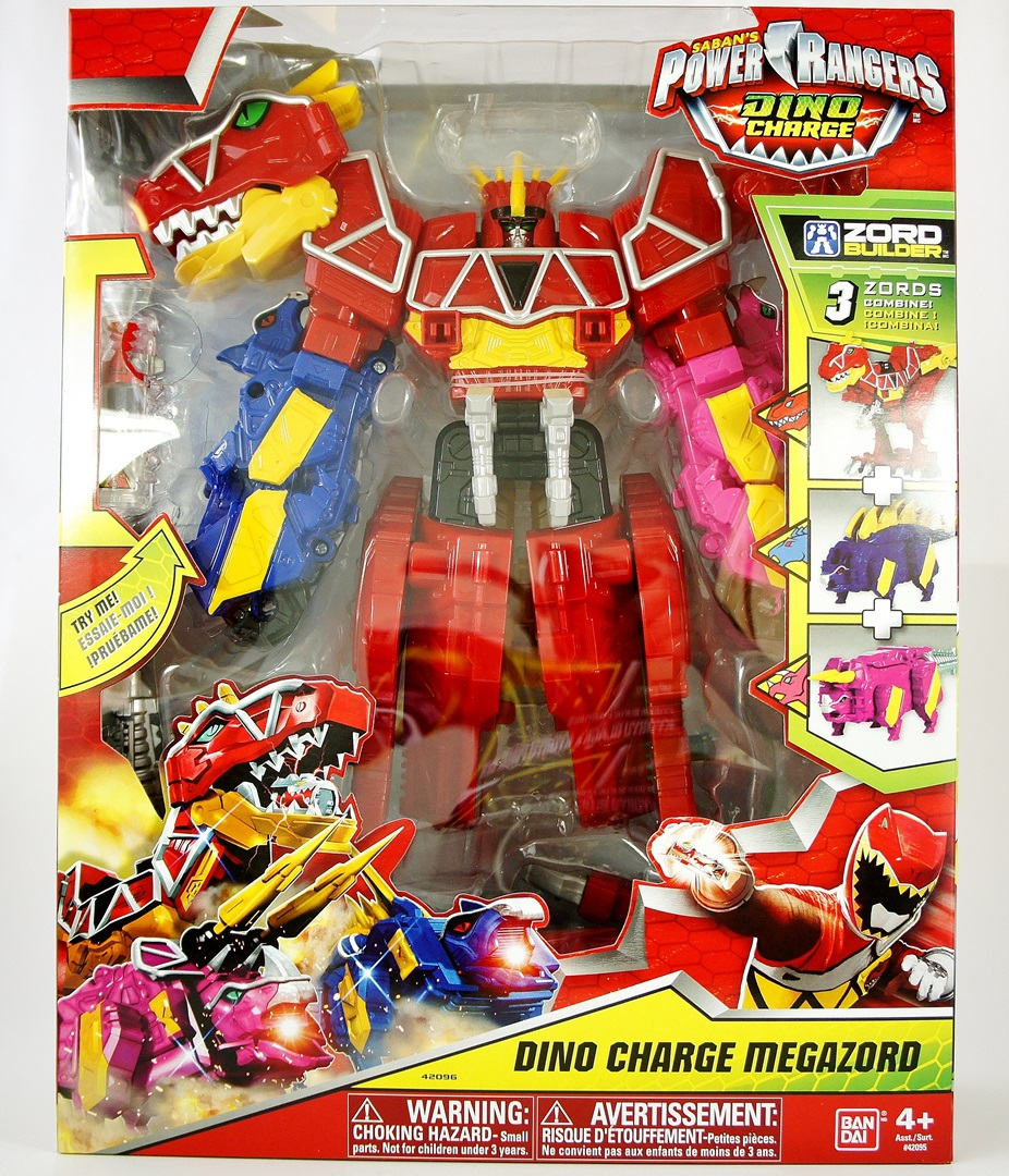 Dino Charge Megazord 001