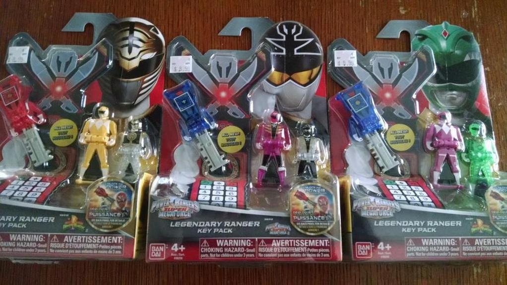 New Super Megaforce Ranger Keys 2