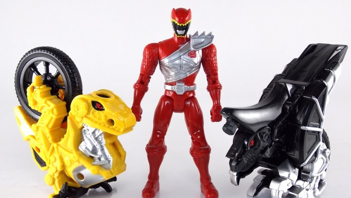 Power Rangers Dino Charge Dino Cycle With Red Ranger Gallery