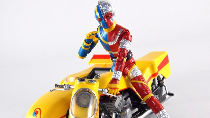 S.H. Figuarts Kikaider's Side Machine Gallery - Toku Toy Box Entry!