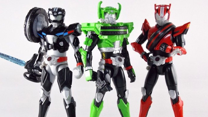 TK-05 Kamen Rider Drive Type Technic Gallery & Review - Toku Toy Box Entry!