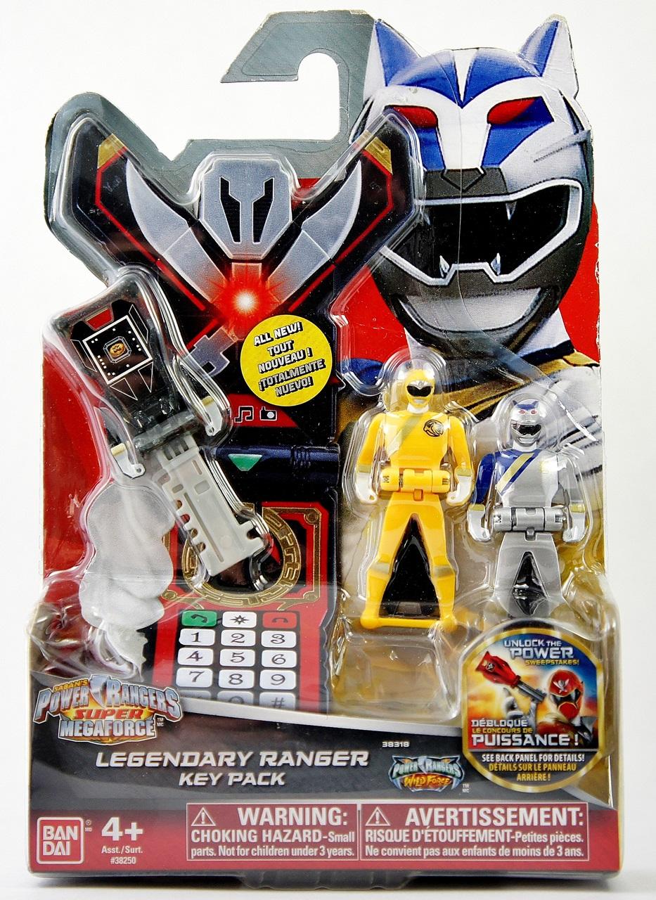 power ranger keys