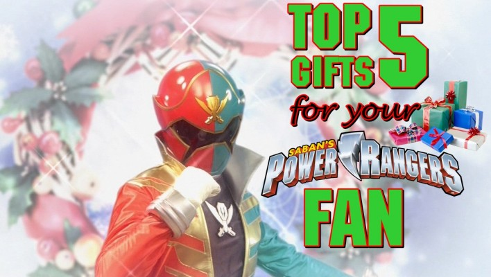 Top 5 Gifts for Your Power Rangers Fan