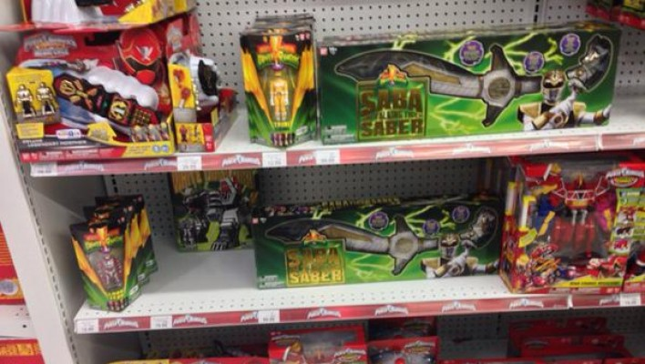 Power Rangers Legacy Saba & Tigerzord at US Retail