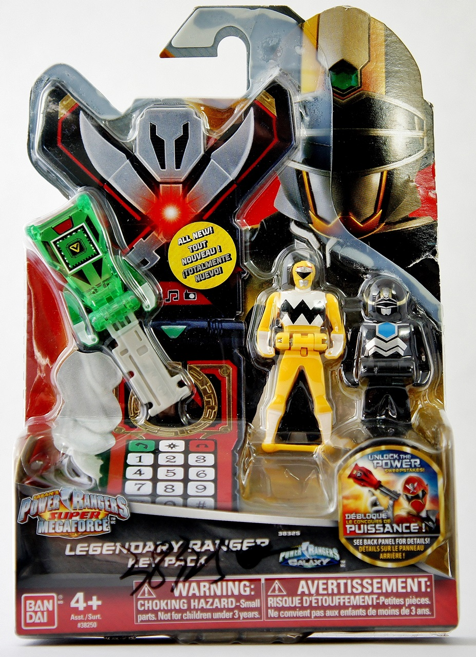 Power rangers super megaforce ranger keys unreleased for Galaxy toys