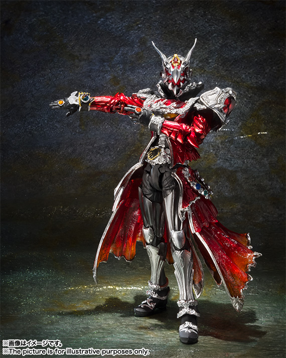 S I C Kamen Rider Wizard Flame Dragon Official Images