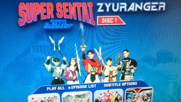Shout! Factory Zyuranger DVD's Released Early, Images/Screencaps!