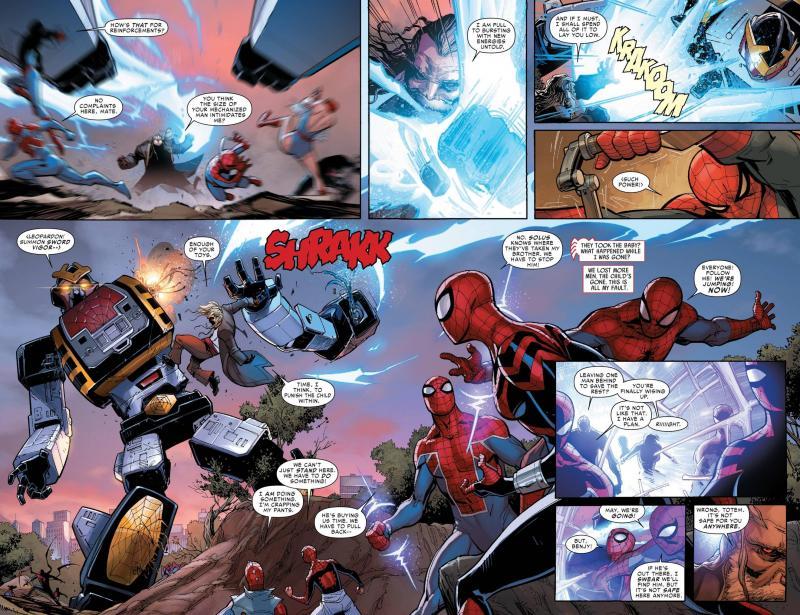 Toei-Spider-Man-Leopar... Mangaverse Spider Man Wallpaper