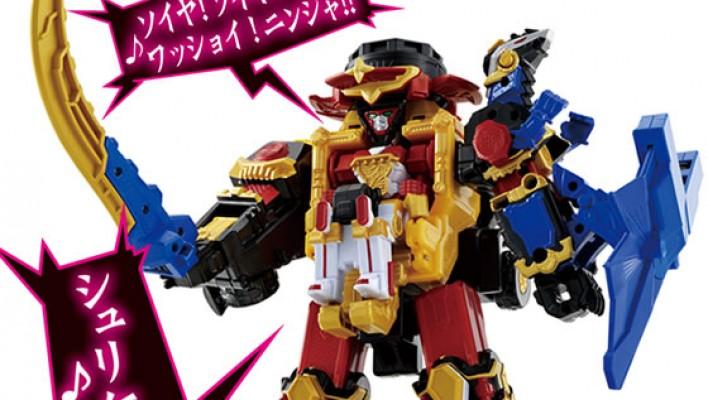 Initial Shuriken Sentai Ninninger Toys - Official Images!