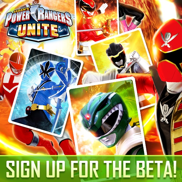 Power Rangers Unite Beta