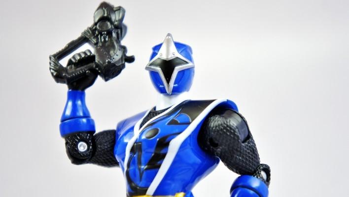 Shuriken Sentai Ninninger - Ninnin Action 02 Ao Ninger Gallery