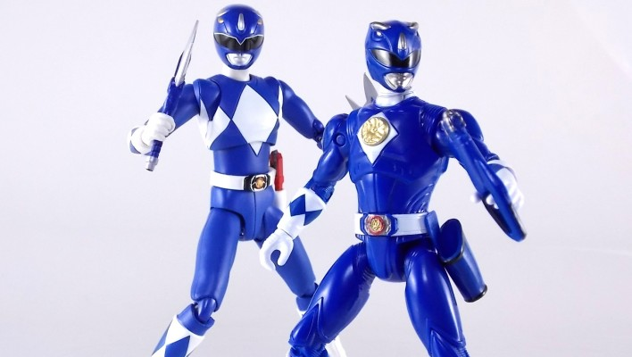 Legacy Mighty Morphin Power Rangers Movie 5 Inch Blue Ranger Gallery