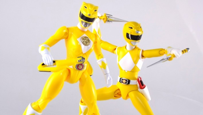 Legacy Mighty Morphin Power Rangers Movie 5 Inch Yellow Ranger Gallery
