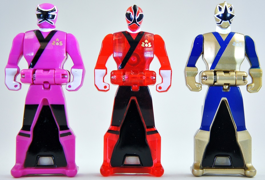 power ranger keys