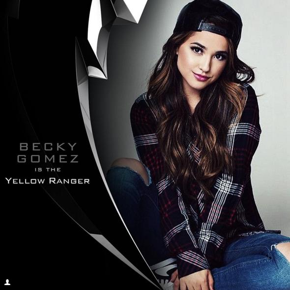 Becky Gomez Yellow Ranger 2017 Power Rangers Movie