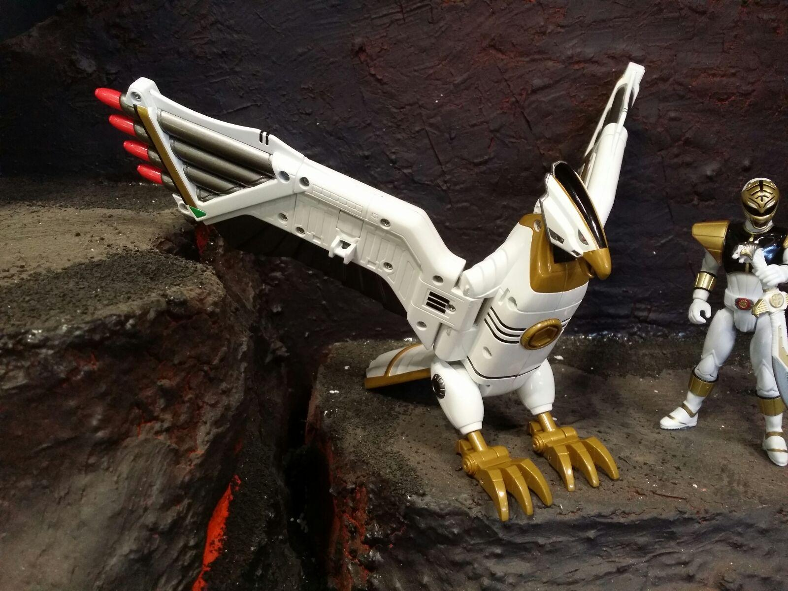 Power Rangers Legacy Falconzord First Look NYCC 2015