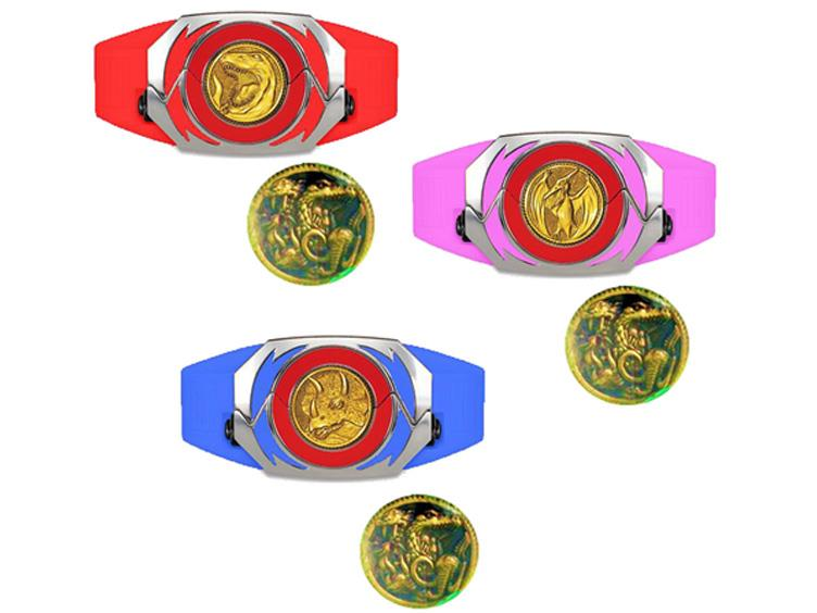 Power Rangers Legacy MMPR Movie Red, Blue, & Pink Power