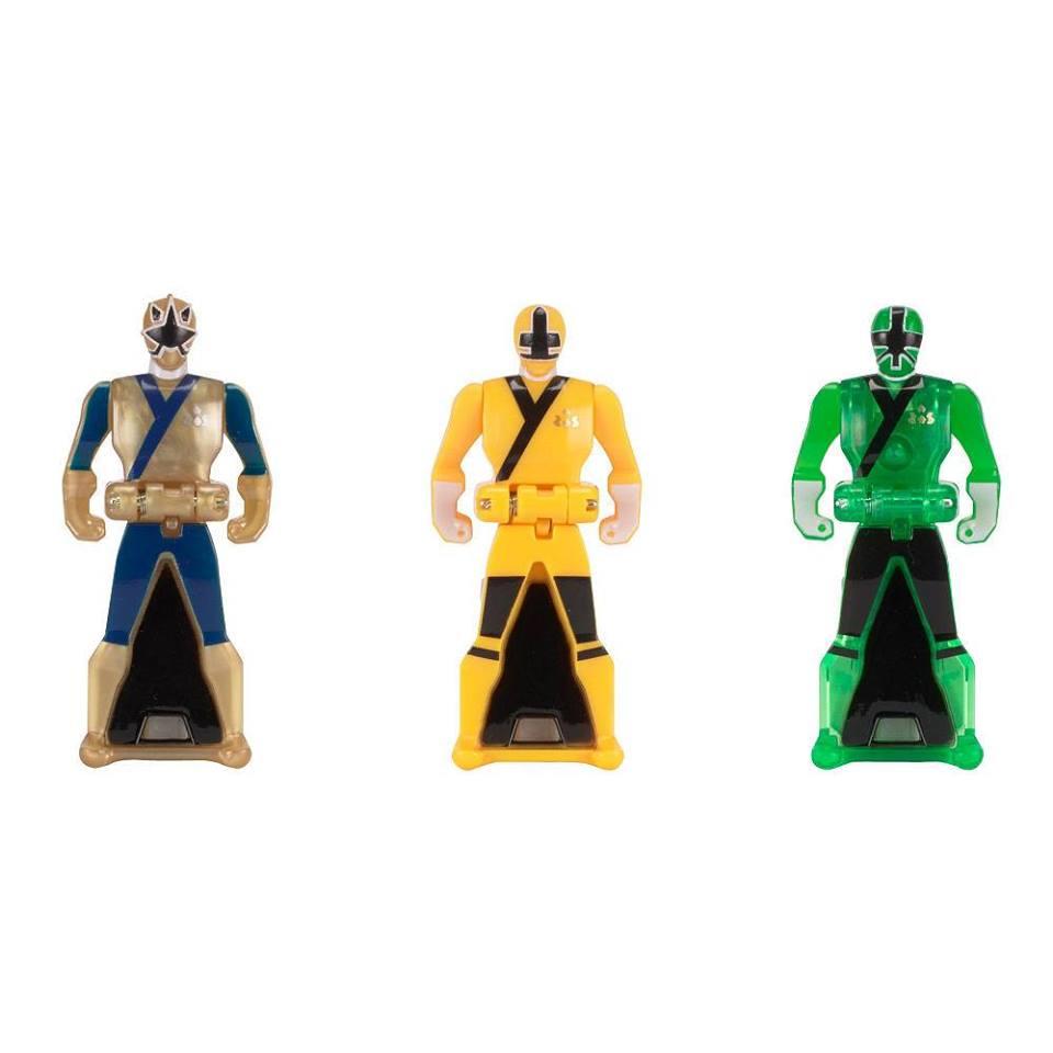 Images of New Power Rangers Super Megaforce Ranger Keys ...