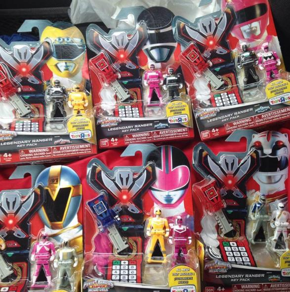 New Power Rangers Supe... Super Sonic And Super Shadow And Super Silver Toys