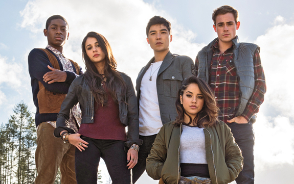 Power Rangers 2017 Cast