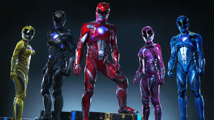 Power Rangers 2017 Movie Ranger Suits Revealed!