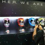 SDCC 2016 Lionsgate Power Rangers 2017 Movie Helmets Hi Res Shots 017