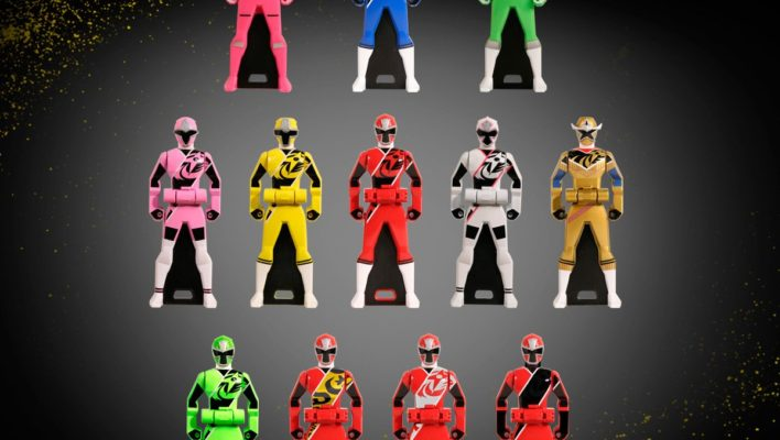 Gokaiger Ranger Key Set 2000th Edition Fully Revealed!