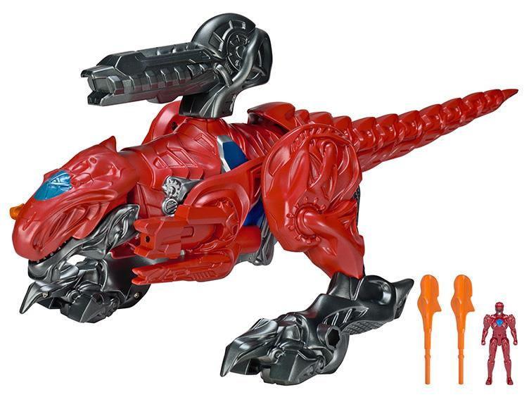 official images of power rangers movie t rex zord tokunation. Black Bedroom Furniture Sets. Home Design Ideas