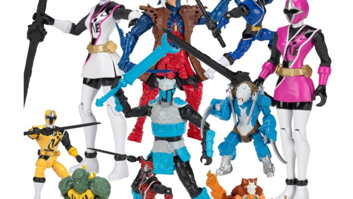 Power Rangers Ninja Steel 5-Inch Figures Official Images