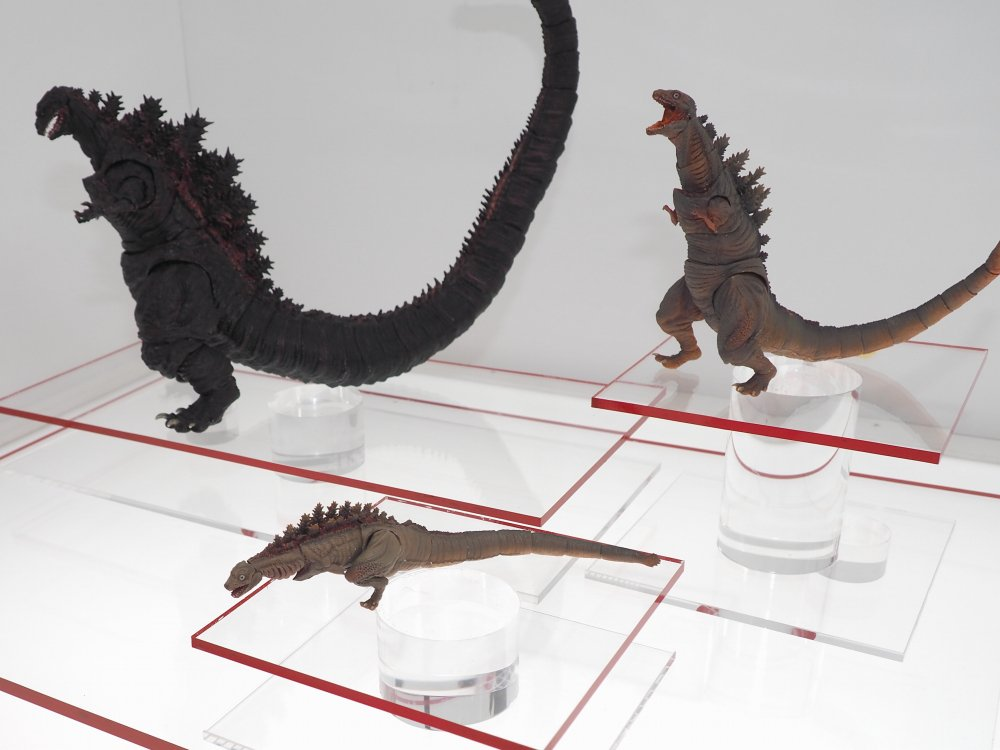 Tamashii Nations 2016 Day 1: Shin Godzilla Reveals - Tokunation