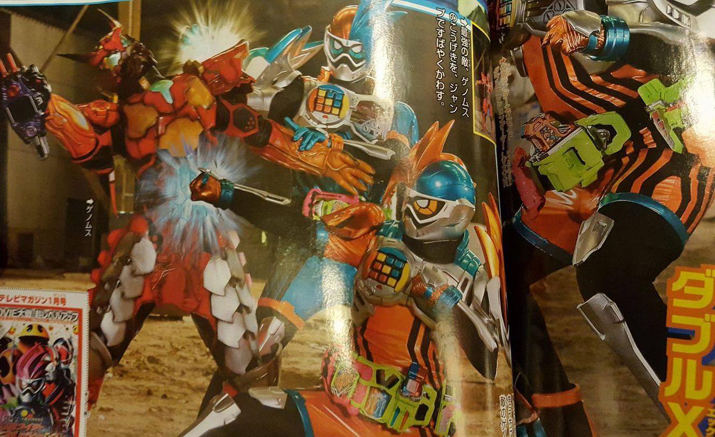 New Kamen Rider Ex-Aid Scans Online- Drago Knight Hunter ...