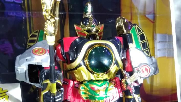 Tokyo Toy Show 2017 - Super Sentai Artisan DX DaiRenOh