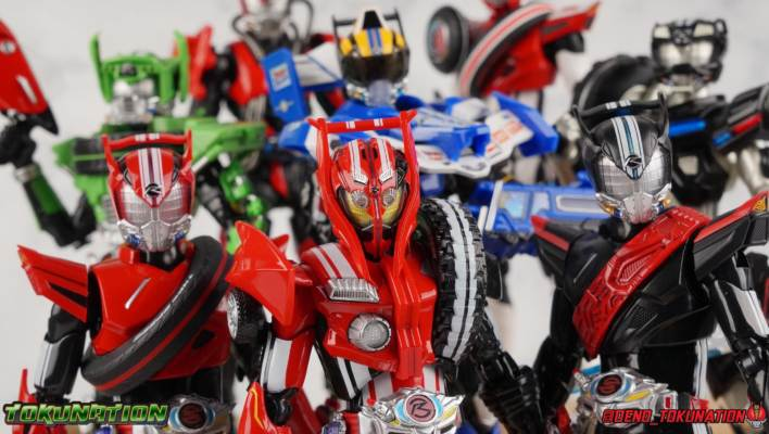 S.H. Figuarts Kamen Rider Drive Type Tridoron & Tire Blending Set Gallery